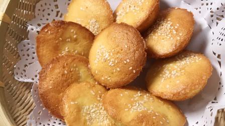 超简单传统老式鸡蛋糕,配方简单,酥软香甜,大人小孩抢着吃