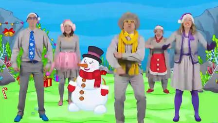 圣诞鲨鱼宝宝英文儿歌,趣味少儿益智动画