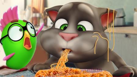 汤姆猫好饿呀,小厨师做碗面条吧?我的汤姆猫游戏