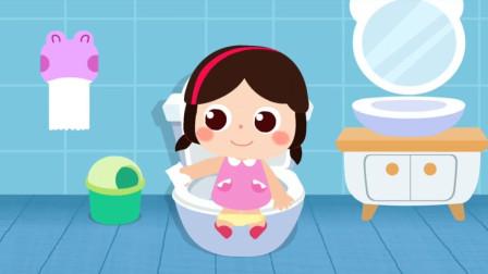 男孩女孩们要怎么上厕所呢?宝宝巴士游戏