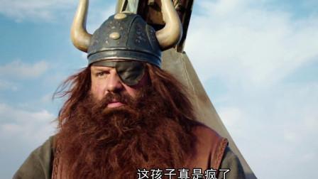 维京人历经磨难从地牢逃出,准备开船回家时,却被海盗船全速追击