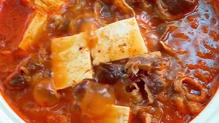 韩剧里的泡菜肥牛豆腐汤,这样做简单好吃