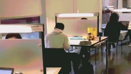 清华大学的图书馆,当这一刻我羡慕极了,后悔当初没有好好学习!