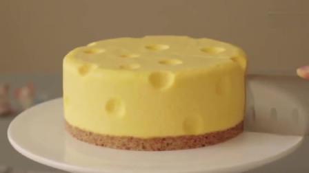 【奶酪蛋糕】汤姆和杰瑞同款,免烤奶酪蛋糕,和《猫和老鼠》里一模一样