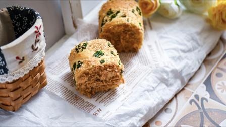我的日常料理 第二季 超详细步骤教你制作松软不开裂的网红肉松面包卷