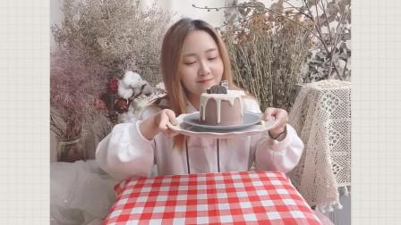 雪顶巧克力小蛋糕 谁能抗拒得了