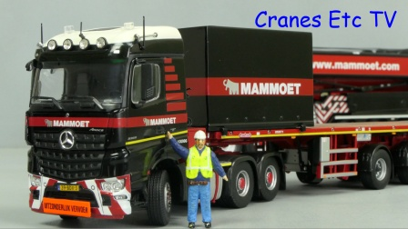 Arocs + Ballast Mammoet by Cranes Etc TV