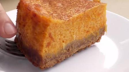 适合新手的浓郁南瓜蛋糕,做法简单配料少,口感绵实,浓郁好吃~