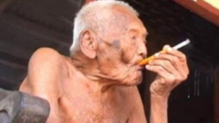 被死神遗忘的147岁老人,儿女已不在人世,如今揭露长寿秘诀