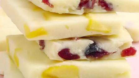 蔓越莓酸奶片,宅家小零食,酸酸甜甜~