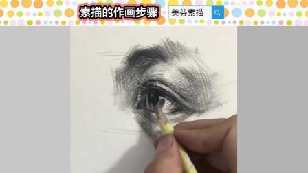 素描的作画步骤是什么?美术绘画要按什么样的流程来画?