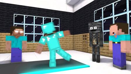 我的世界动画-魔术瓷砖挑战-Dmayor