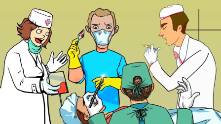 智力推理:哪一个医生是假的?