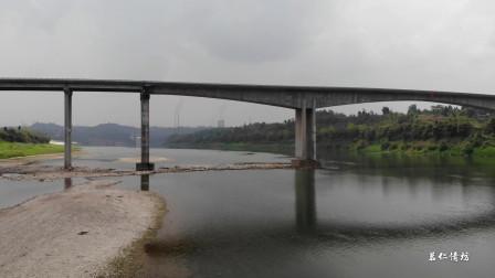 四川广安这座特大桥,连接前锋区与广安区,来了解一下