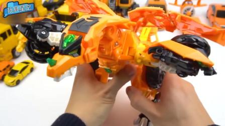 变形金刚不仅能从汽车变成机器人,还能变成恐龙