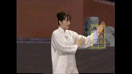 北京体育大学吴阿敏《24式太极拳口令教学》fybxzk