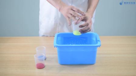 科学小实验系列:水中分沙