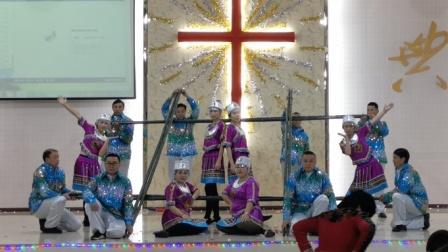 2019圣诞节红旗基督教会舞蹈《黑与白》