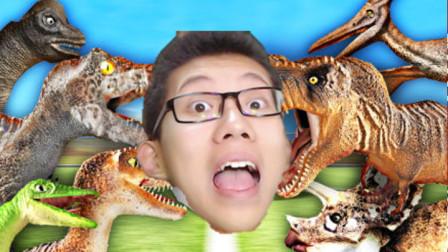 鲤鱼Ace解说 恐龙超进化乱斗模拟器 Roblox小游戏屌德斯小飞象小格魔哒小熙面面