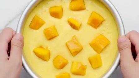 美味芒果酸奶慕斯