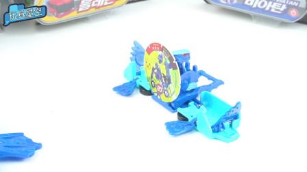 爆裂飞车连续夺晶,二段变形,360度爆裂形态