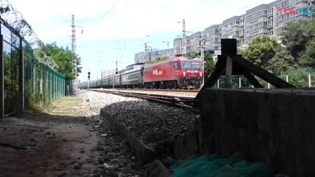 20190720_122723 西局西段HXD3D-0553牵引K1132次(宝鸡-烟台)通过三桥车站