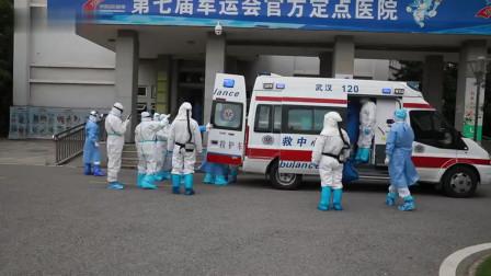 江苏医疗队接管金银潭医院ICU病区20天,新冠肺炎患者清零