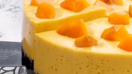美食之芒果酸奶慕斯