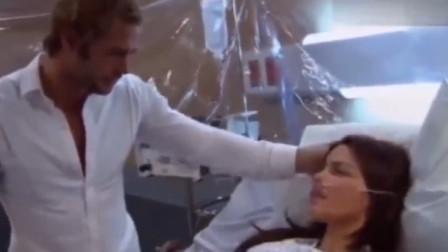 意大利情侣在隔离病房的这一幕,感动全世界!