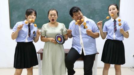学霸王小九学生比赛吃串串鸡蛋赢绝地求生装备学霸轻松赢得平底锅太逗了