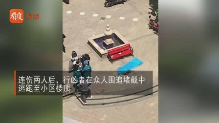 两一重伤,郑州男子持刀砍伤妻子,砍劝架邻居后跳楼身亡