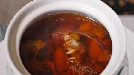 野生松茸菌排骨汤,清淡味鲜养生佳品