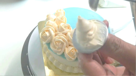 外面卖200多的生日蛋糕做法很简单,诀窍都教给你