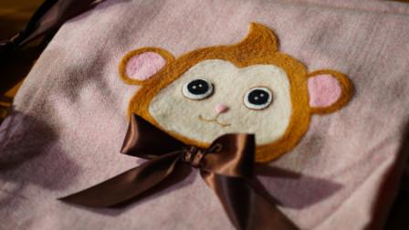 织一条小猴子围巾送给最爱的ta吧!