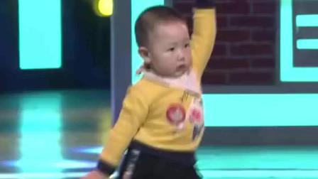2岁小孩跳广场舞节奏感太强悍了太逗了萌翻了