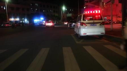 街拍视频 电动车骑行夜景随拍 公交恢复运行