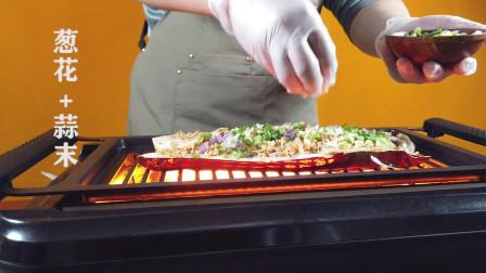 长这么大,你看过茄子这样烤的吗?韩式烧烤之芝士烤茄子