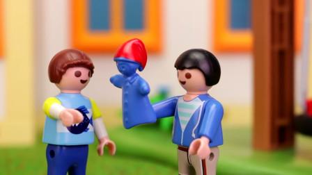 益智玩具游戏故事:越看越神奇,小正太竟发现一只魔法玩偶人物?