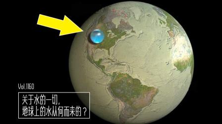 关于水的一切!地球上的水从何而来的?