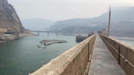 30元观万里黄河第一坝,河南三门峡大坝太震撼壮观了,不虚此行