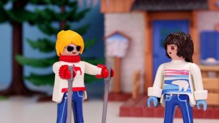 益智玩具游戏故事:太好玩了,小萝莉乘坐超神奇玩具飞机要去哪?