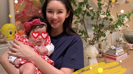 陈赫老婆张子萱为小女儿庆祝百天 房间摆满气球花朵宛若童话世界