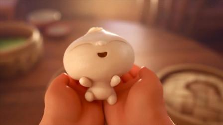 皮克斯中国风动画:大妈吃包子吃出包子精,养大后竟一口吃了它