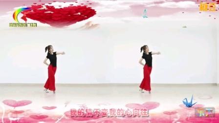 杨丽萍原创广场舞《心在路上》优美形体中三舞教学