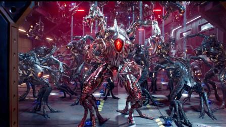 迷失太空第二季10,外星人进攻坚毅号,被超强电磁场控制动弹不得