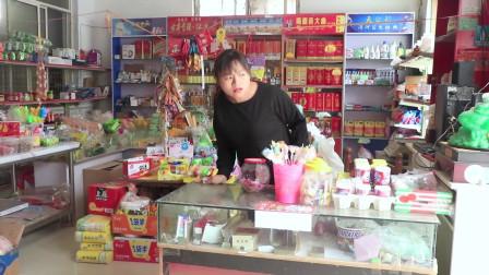 学霸王小九校园剧:女同学问老板要泡泡糖,一连两天要100个,第三天却买了瓶钙奶