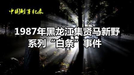 """1987年黑龙江集贤县马新野系列""""白条"""""""