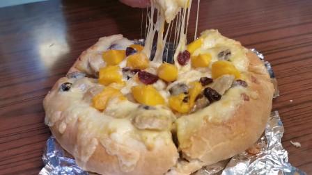 披萨别在外面买,用香蕉芒果做出好吃的水果披萨,方法还简单