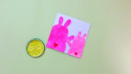 制作拥抱手工贺卡,送给亲爱的妈妈,有爱的母亲节礼物