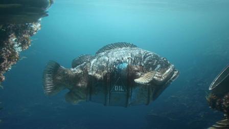 未来水世界,海洋生物与工业垃圾融合,都变身成了机械怪物